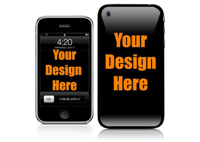 Design your own iPhone 3GS / 4 case skin with Case Hut