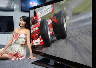 LG unchains the world's biggest LCD 3D TV