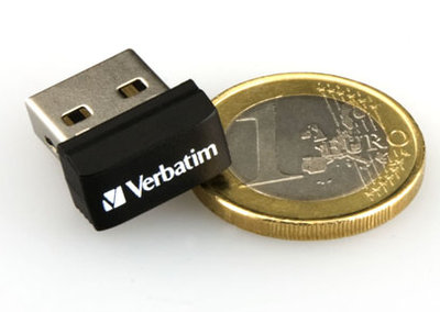 Verbatim Store 'n' Go Netbook USB drive - tiny but massive