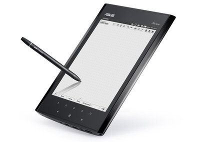 Asus Eee Note EA800 sketch tablet detailed