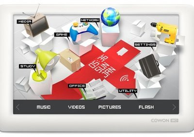 Cowon invites 3D and Wi-Fi to its PMP party