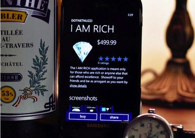 I am Rich app returns, this time for Windows Phone 7 users