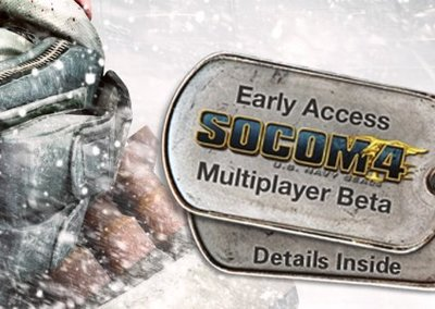 Killzone 3 gamers to get SOCOM 4 beta access