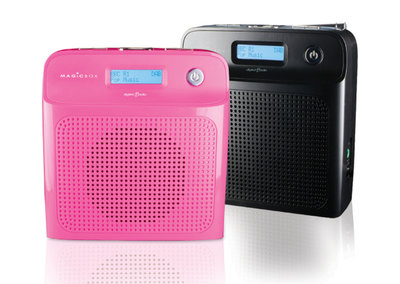 Magicbox Minuet DAB radio for young ears