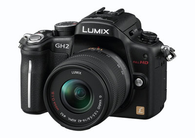 Win a Panasonic Lumix DMC-GH2