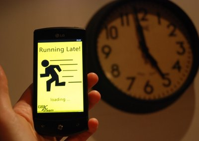 APP OF THE DAY: Running late review (WP7)