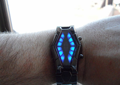 Look like a Cylon with the Cybertrek Cool Watch