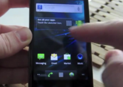 VIDEO: Android Gingerbread 2.3.3 in action