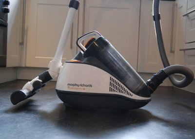 Morphy Richards Vorticity Plus bagless vacuum cleaner hands-on