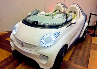 Smart ForspeED electric concept hands-on