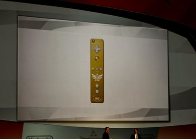Gold Wii remote confirmed for Legend of Zelda Skyward Sword