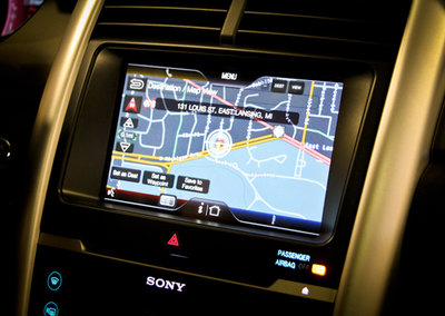 MyFord Touch TeleNav satnav system hands-on