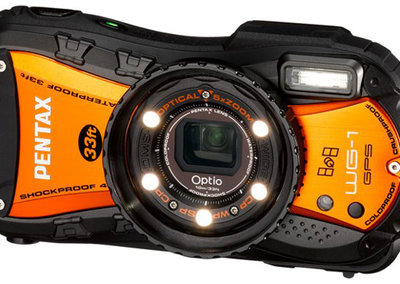 Pentax launches special Optio WG1-GPS in Shiny Orange