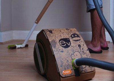 Vax EV: the cardboard vacuum cleaner