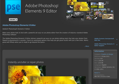 First Adobe product hits Apple app store
