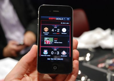 ESPN Goals app to bring every strike from the Premier League