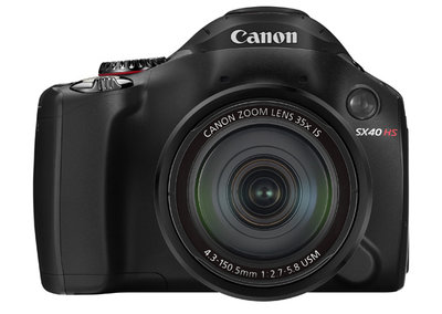 Canon zooms in with PowerShot SX40 HS launch