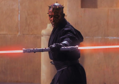 Star Wars 3D trailer... not in 3D (video)