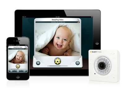 BabyPing Wi-Fi Baby Monitor launches for iOS
