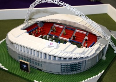 Character Building Wembley Stadium offers Lego-style footy fun