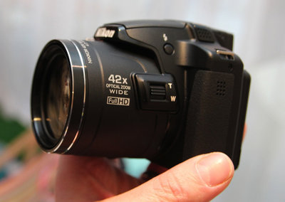 Nikon Coolpix P510, L810, L310 pictures and hands-on