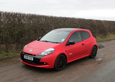 RenaultSport Clio 200 Raider pictures and hands-on