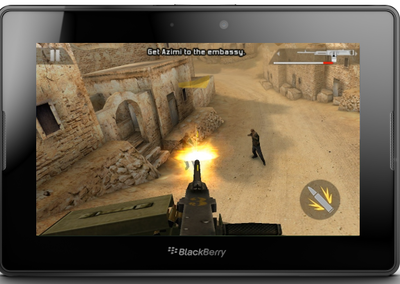 Free games on offer for BlackBerry PlayBook 2.0 users