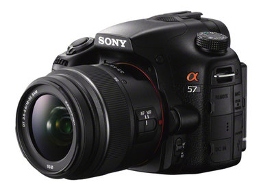 Sony Alpha SLT-A57 offers 12fps shooting, available April