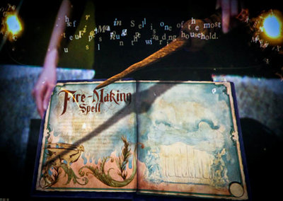 Sony launches Wonderbook AR accessory for PS3 - JK Rowling's Book of Spells to be first up