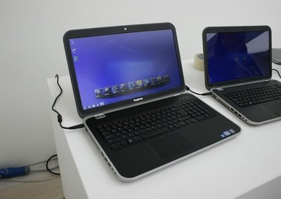 Dell Inspiron 15R, 17R laptops and 14z ultrabook hands-on pictures