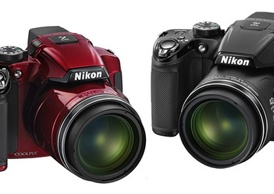 Win: One of two Nikon Coolpix P510 superzoom cameras
