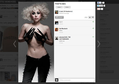 Little Monsters, Lady Gaga's social network open for business