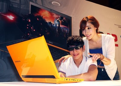 Samsung Series 7 Gamer notebook gets refresh and yellow paintjob