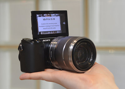 Sony NEX-5R pictures and hands-on