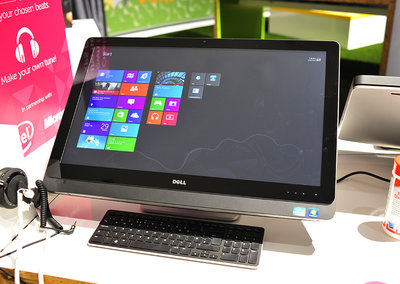 Dell XPS One 27 touch screen pictures and hands-on