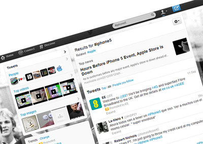 iPhone 5: 75,000 tweets per hour and counting