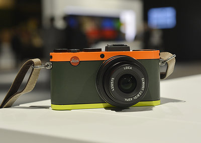 Leica X2 Edition Paul Smith pictures and hands-on