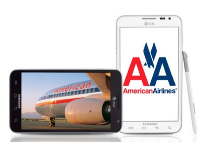 American Airlines cabin crew now packing Samsung Galaxy Notes