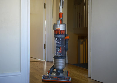 Vax Air3 multi-cyclonic upright vacuum cleaner pictures and hands-on