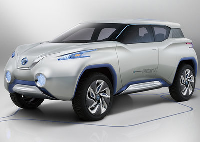 Nissan TeRRA concept car comes with removable tablet device for a dashboard