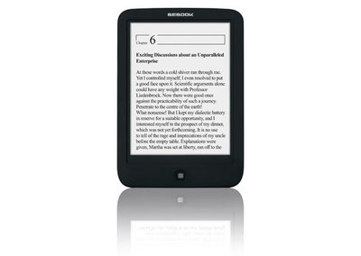 BeBook Touch: 6-inch Android touchscreen reader with Wi-Fi announced
