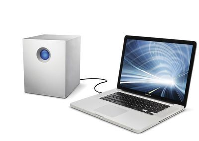 LaCie 5big: 20TB Thunderbolt RAID is super quick