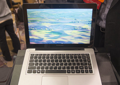 Lenovo IdeaPad U310 Touch laptop pictures and hands-on