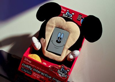 Disney Applingz for iPhone and iPod touch, interactive Mickey and Minnie Mouse pictures and hands-on