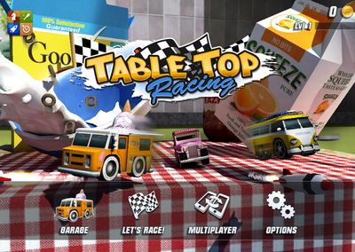 APP OF THE DAY: Table Top Racing review (iPhone)