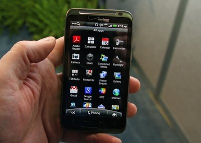 Verizon releases Android 4.0 update for the HTC Thunderbolt