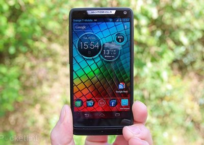 Intel-packing Motorola RAZR i upgraded to Jelly Bean