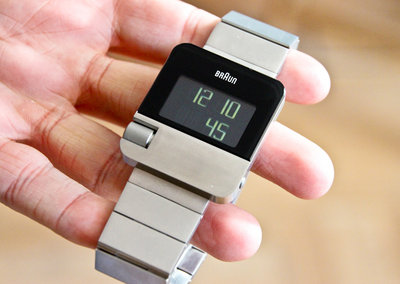 Braun Prestige BN10 digital watch pictures and hands-on