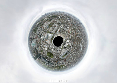 BT Tower centre of record breaking 320-gigapixel panoramic photo
