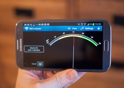 APP OF THE DAY: Wifi Analyzer review (Android)